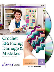 Crochet ER: Fixing Damage & Mistakes Class DVD