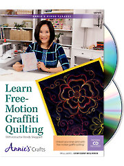 Learn Free-Motion Graffiti Quilting Class DVD