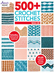500 + Crochet Stitches Crochet Pattern Book