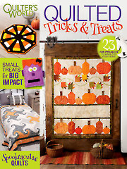 General FeatureQuilted Tricks and Treats