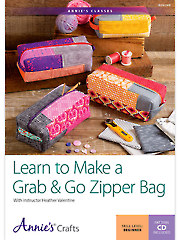 Make a Grab & Go Zipper Bag
