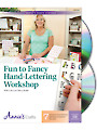 Hand-Lettering Workshop Class DVD