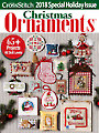 Just CrossStitch Ornaments 2018