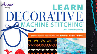 Learn Decorative Machine Stitching - Learn Decorative Machine Stitching by Linda Griepentrog...