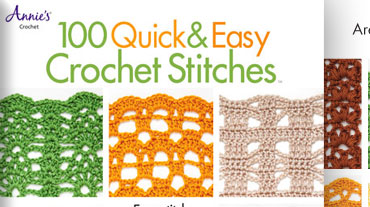 100 Quick & Easy Crochet Stitches - Learn how to crochet faster than ever with this book by ...