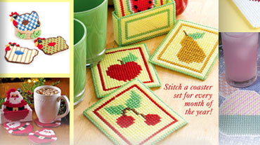 A Dozen Coaster Sets - A Dozen Coaster Sets includes coasters for holiday and every day. You...